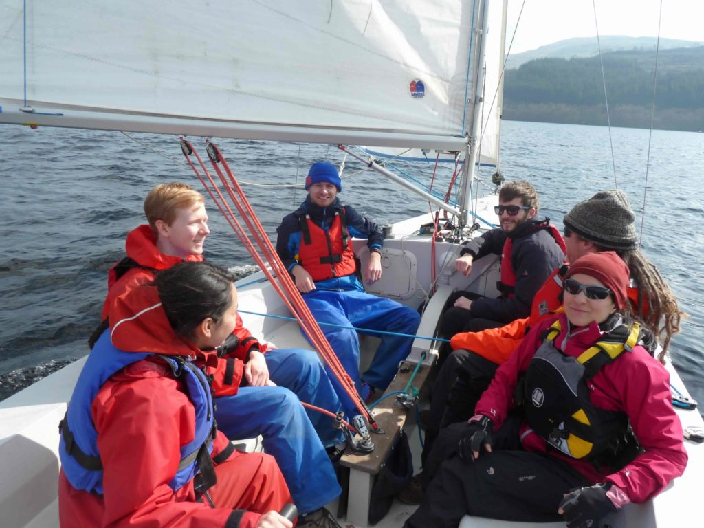 Sailing in Loch Tay – Firbush Day 1